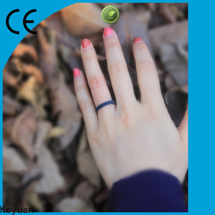 Keyuan durable silicone rings manufacturer for wholesale