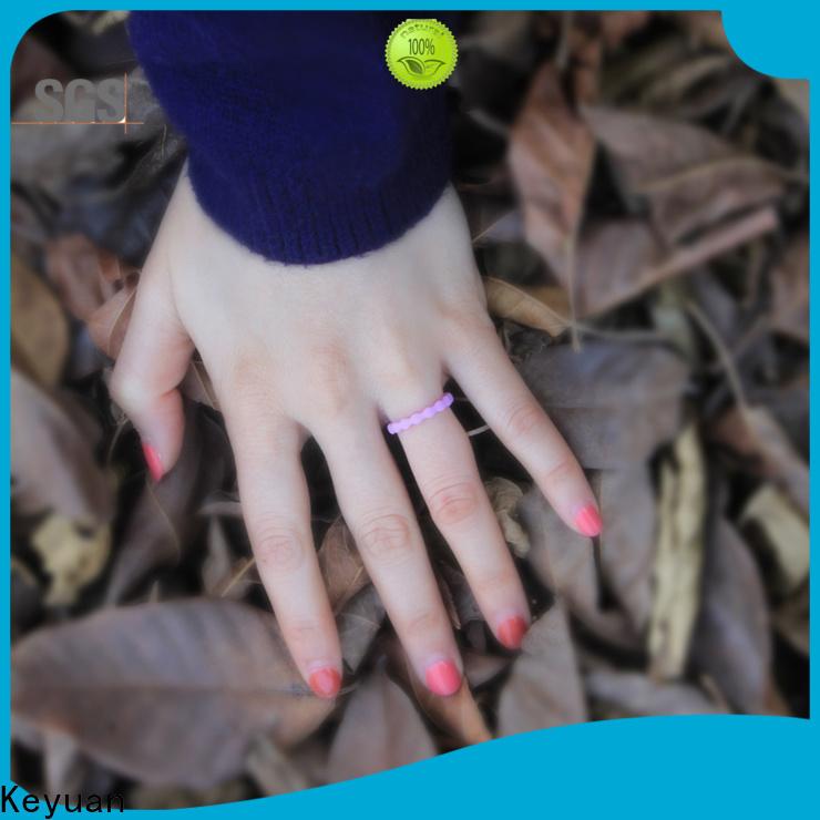 Keyuan durable silicone rings womens company free sample