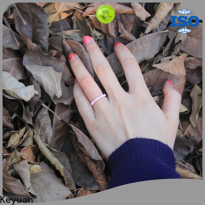 Keyuan silicone wedding bands manufacturer for wholesale