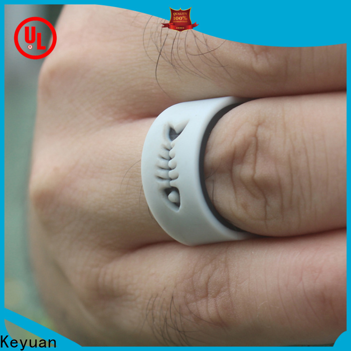 Keyuan quality assured silicone wedding rings company for wholesale