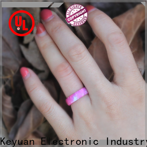 Keyuan quality assured silicone engagement ring company for wholesale