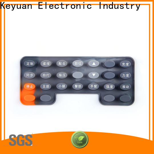 Keyuan hig-quality silicone rubber products manufacturer personalized for electronic