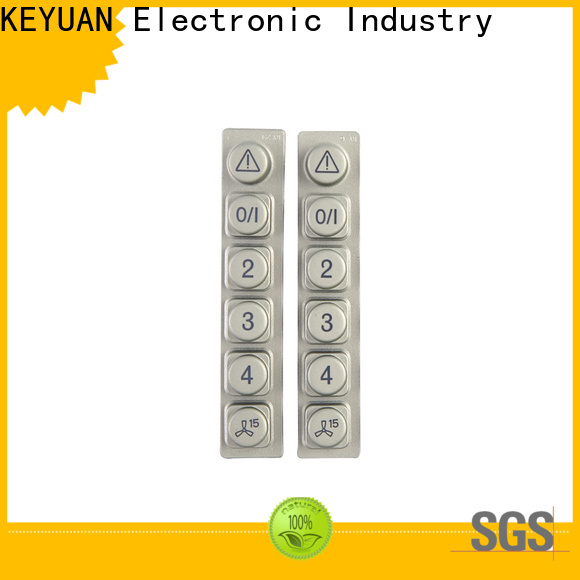 Keyuan hig-quality silicone rubber products supplier for remote control