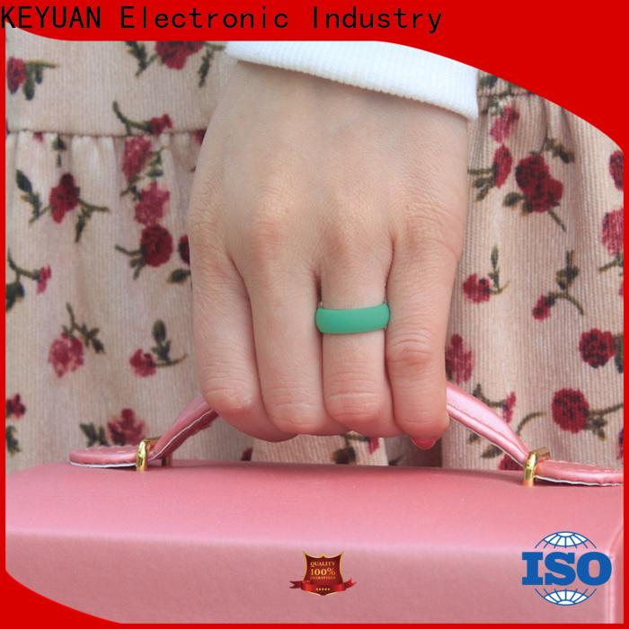 Keyuan best silicone wedding bands supplier free sample