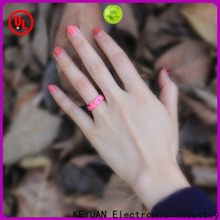 Keyuan quality assured rubber wedding bands company for wholesale