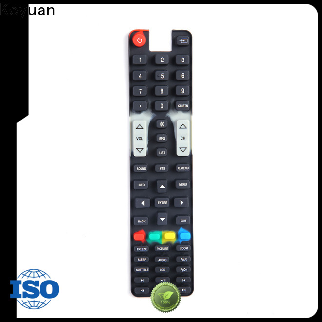 Keyuan hig-quality silicone rubber products wholesale for remote control