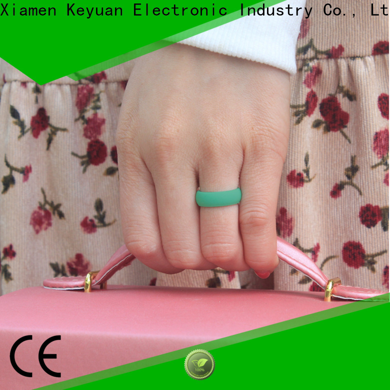 durable rubber wedding rings supplier for wholesale
