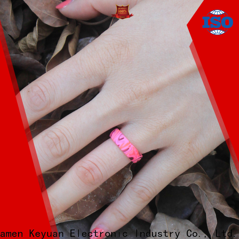 durable rubber wedding bands supplier for wholesale