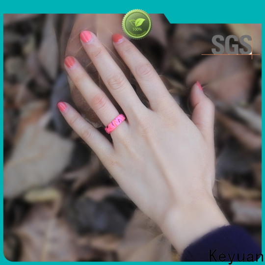 quality assured custom silicone rings factory fast delivery