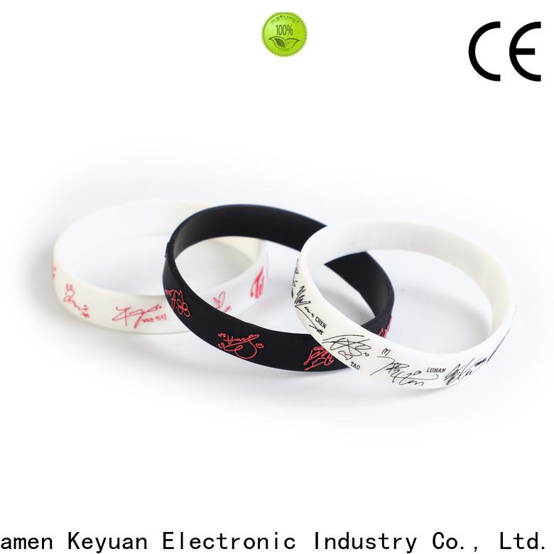 Keyuan silicone band rings supplier free sample