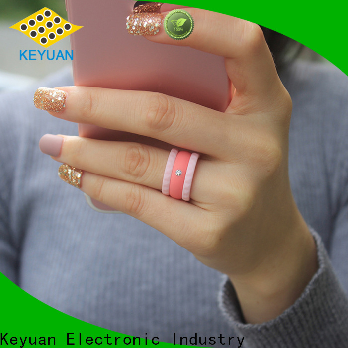 Keyuan quality assured silicone wedding rings company fast delivery
