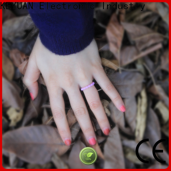 Keyuan hot-selling rubber wedding rings factory fast delivery