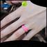 Keyuan durable mens silicone rings company free sample