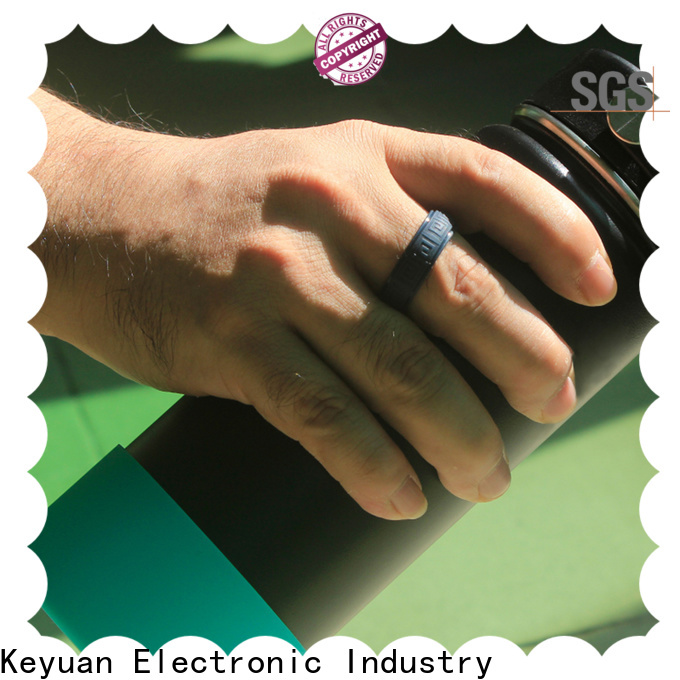 Keyuan silicone engagement ring factory for wholesale