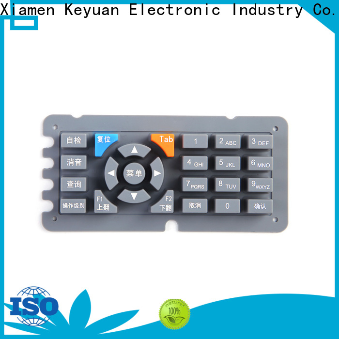 Keyuan conductive silicone rubber products manufacturer personalized for keypad