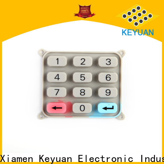 Keyuan conductive silicone rubber products wholesale for industrial