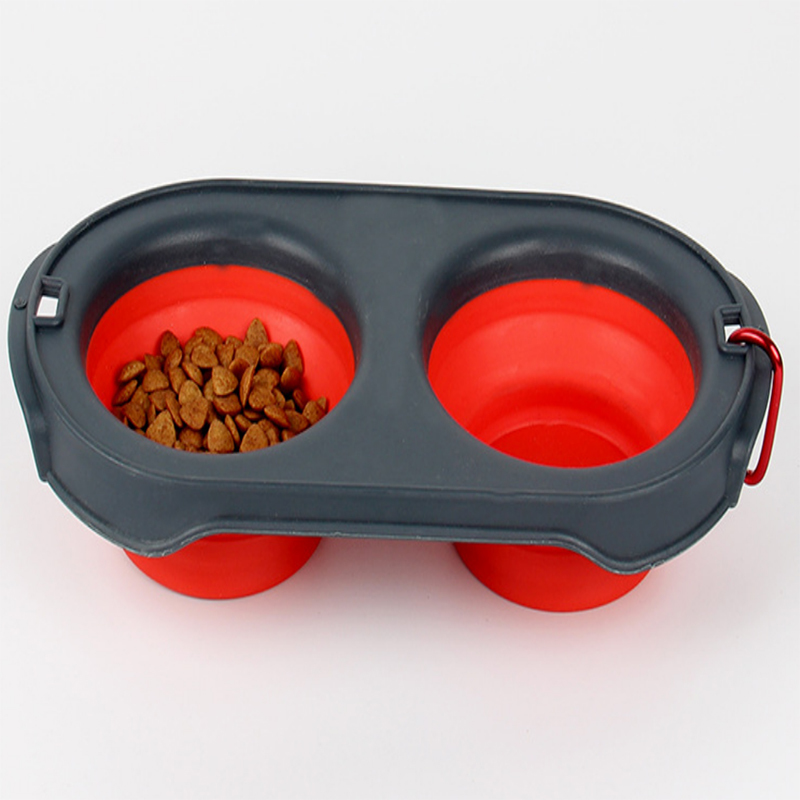 Silicone Pet Collapsible Bowl