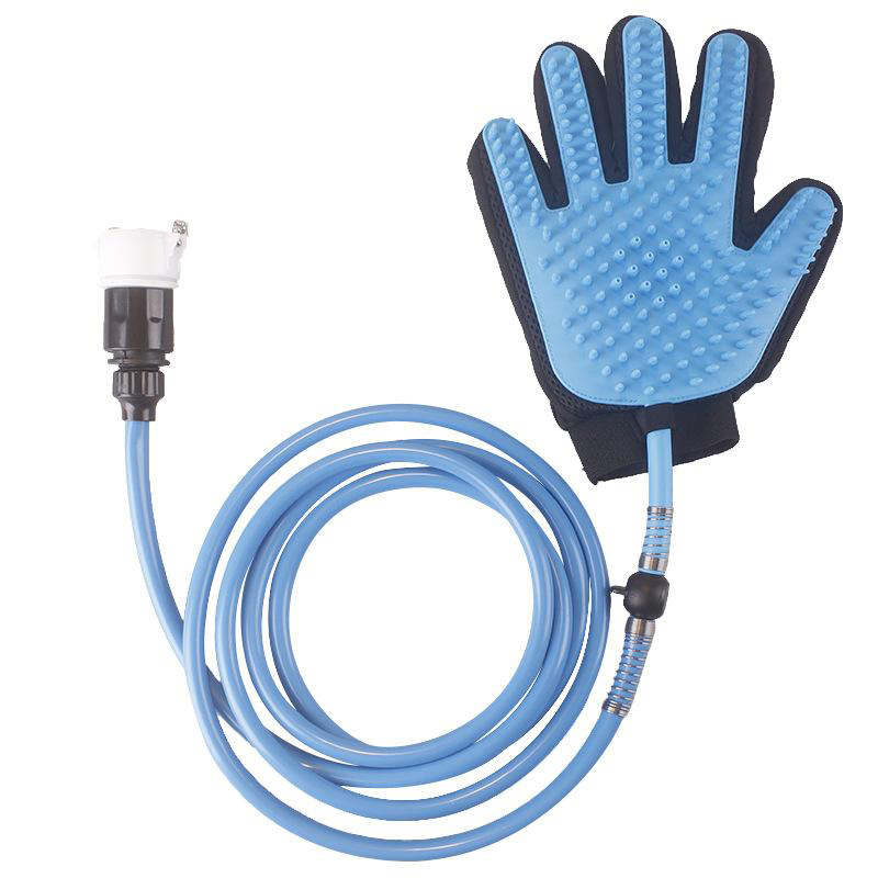 Pet Silicone Gloves Bath Massage Brush