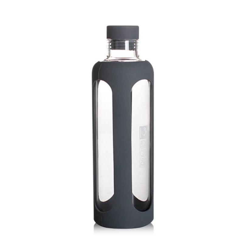 product-Keyuan-Glass Water Bottles With Silicone Sleeve-img