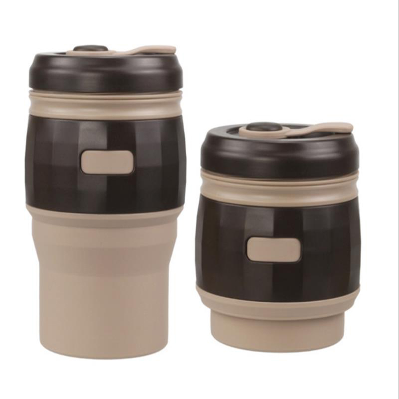 product-Silicone Collapsible Travel Folding Coffee Cup-Keyuan-img-1