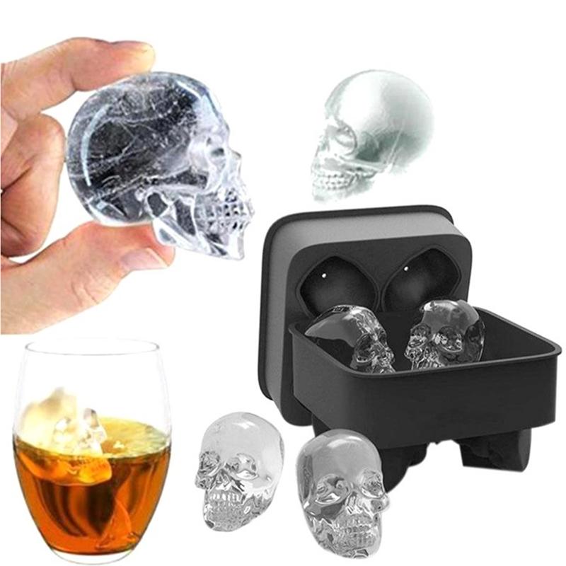 product-Food Grade Silicone Skull Ice Cube-Keyuan-img-1