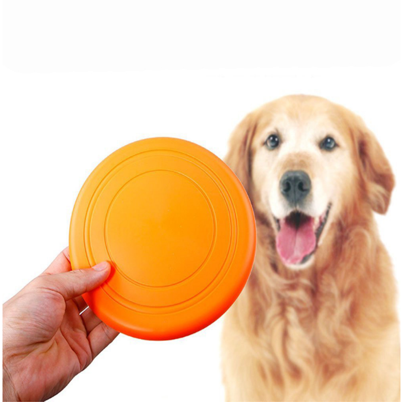 Flying Silicone Pet Saucer