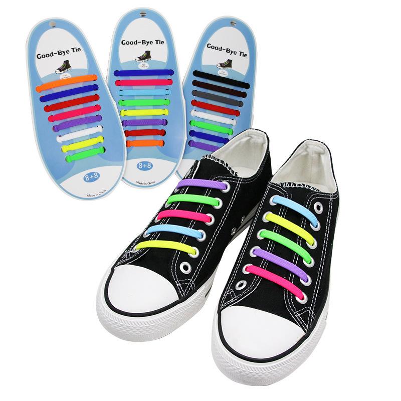 Silicone No-Tie Shoelace