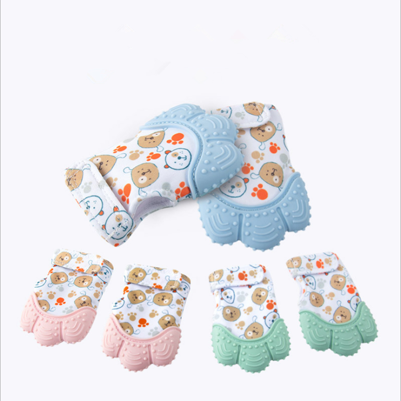 Baby Teething Mitten For Babies