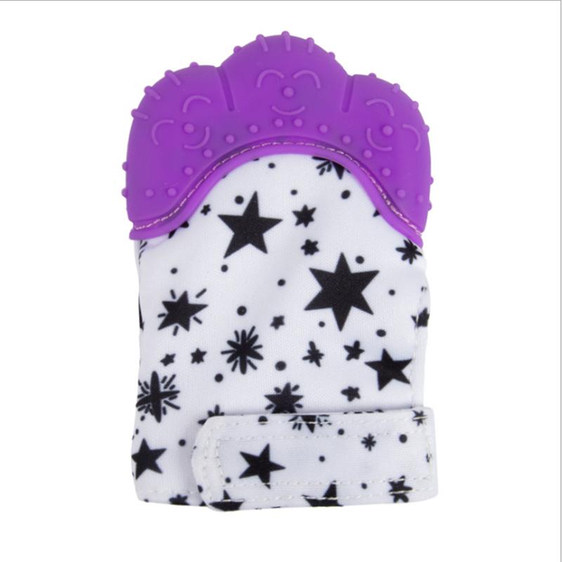 product-Self-Soothing Pain Relief Teething Mitten Glove for Teething Babies-Keyuan-img-1