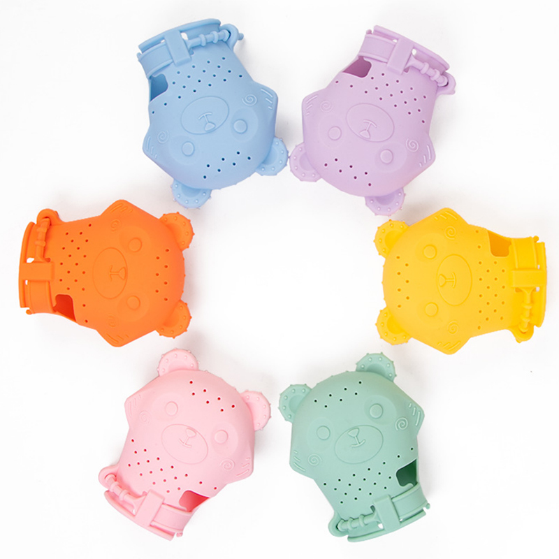 Full Silicone Baby Teething Glove