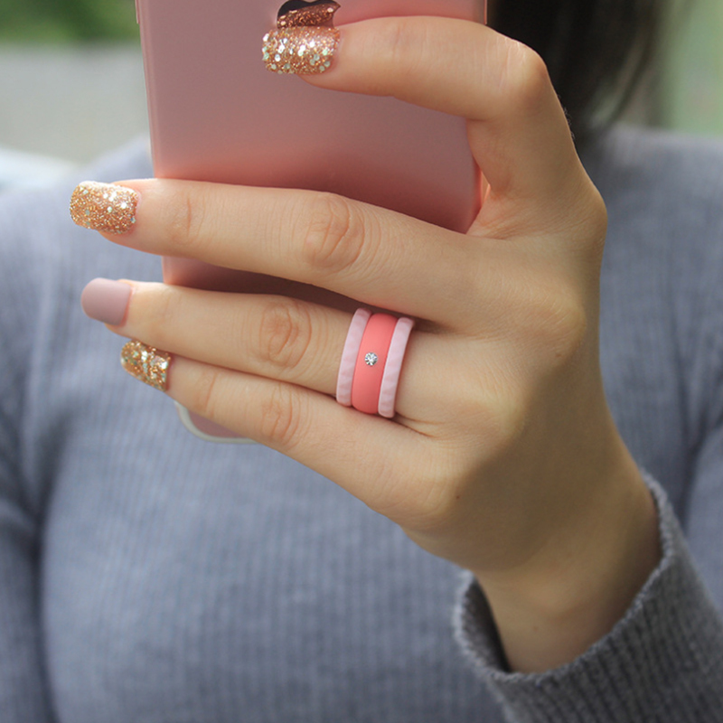 Silicone Fashion Wedding Ring