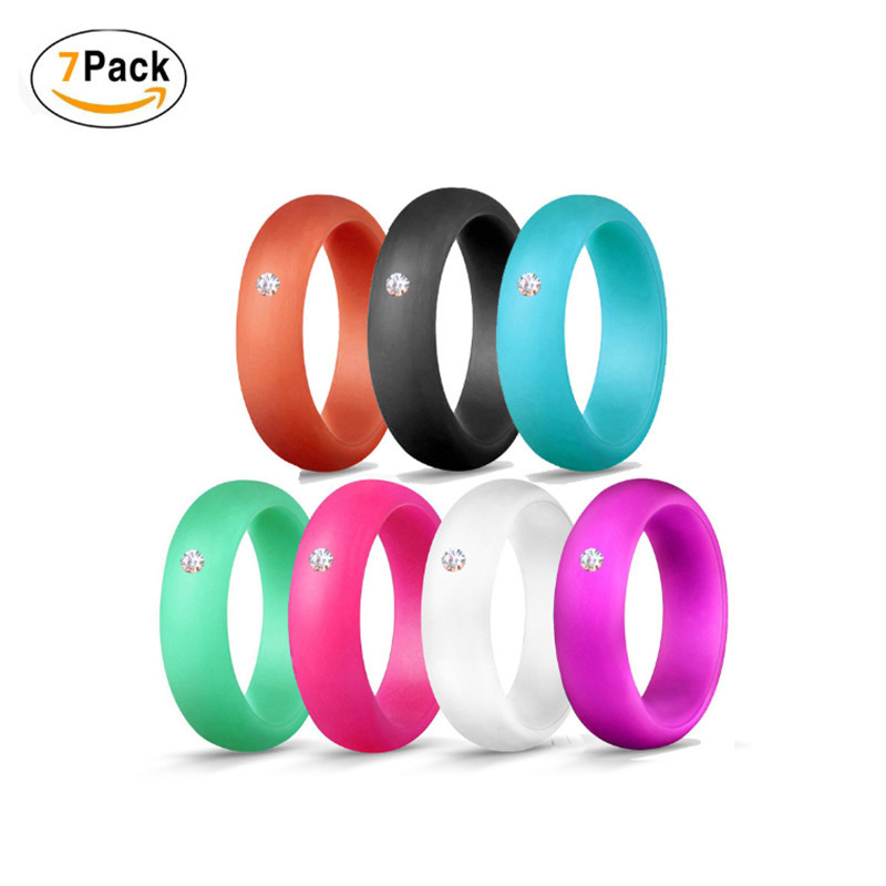 Silicone Fashion Wedding Ring