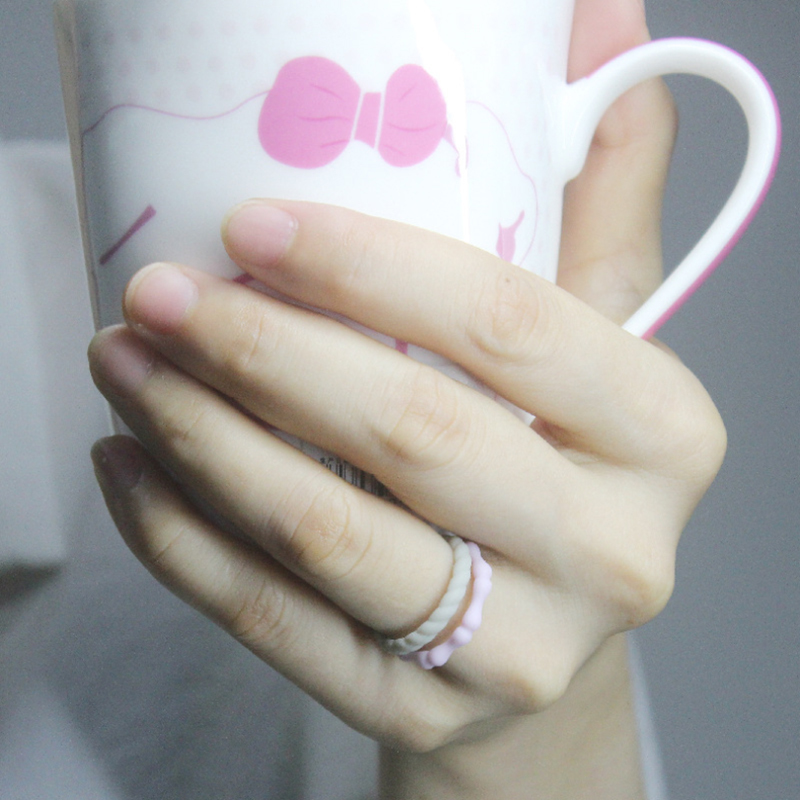Sweethearts Silicone Rings