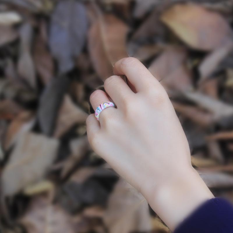 Bohemian Rainbow Series Silicone Ring