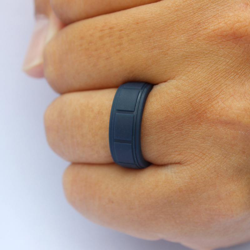 Men`s Silicone Sport Ring
