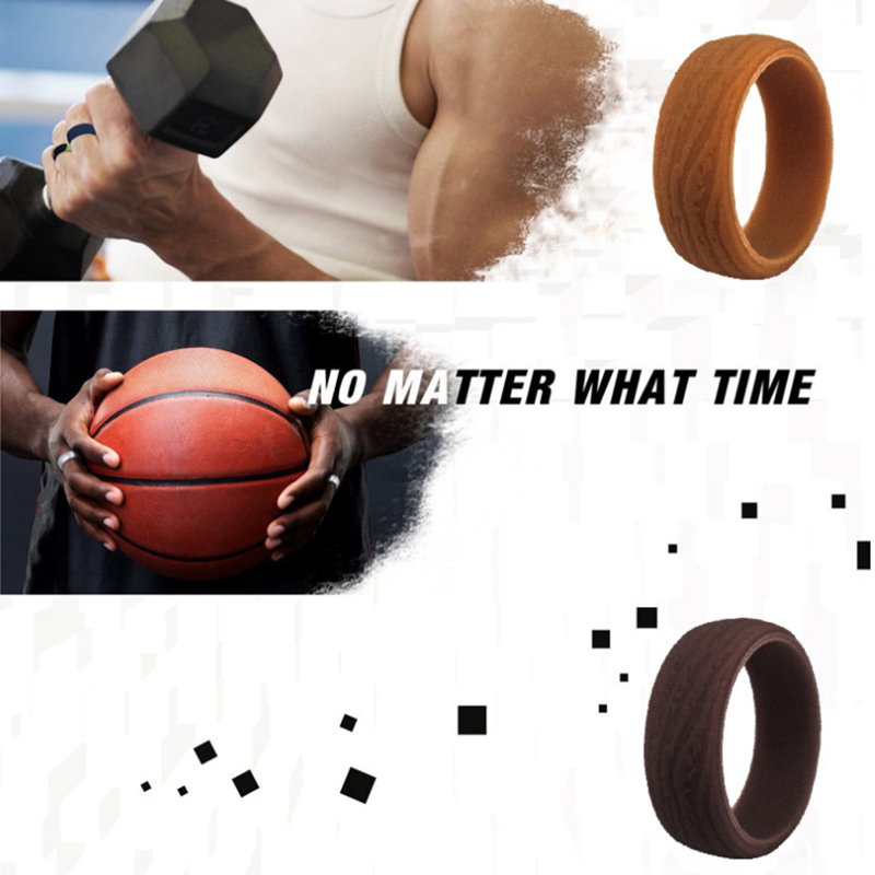 Leisure Style Silicone Ring