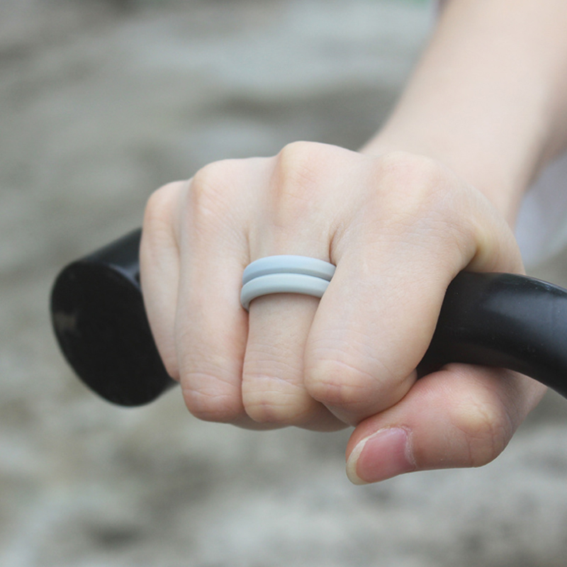 Men`s Sport Silicone Ring
