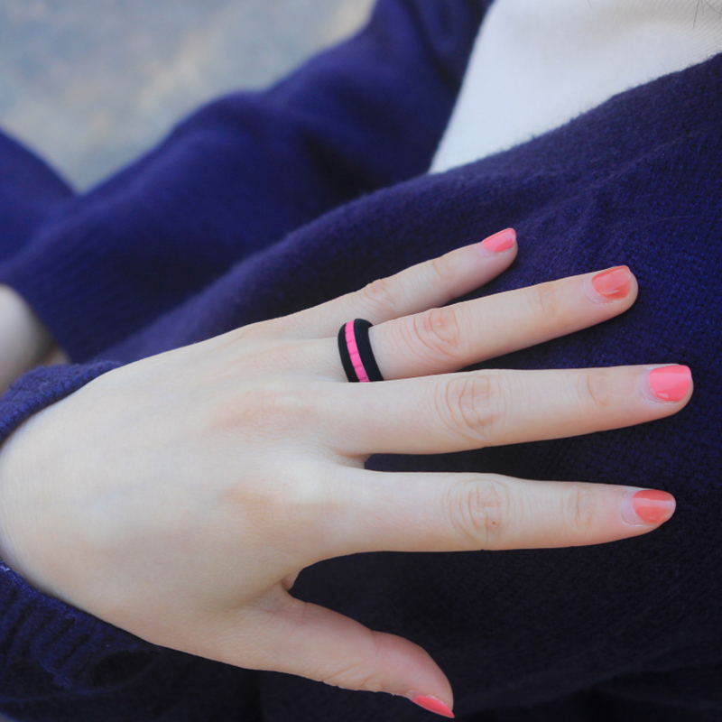 DIY Fashionable Silicone Ring