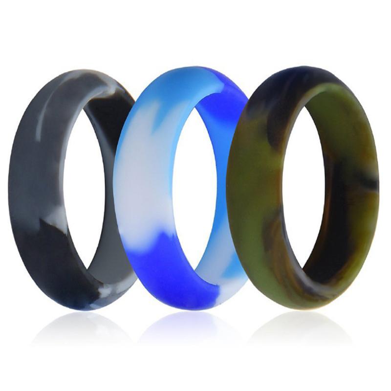 Camo Style Silicone Ring
