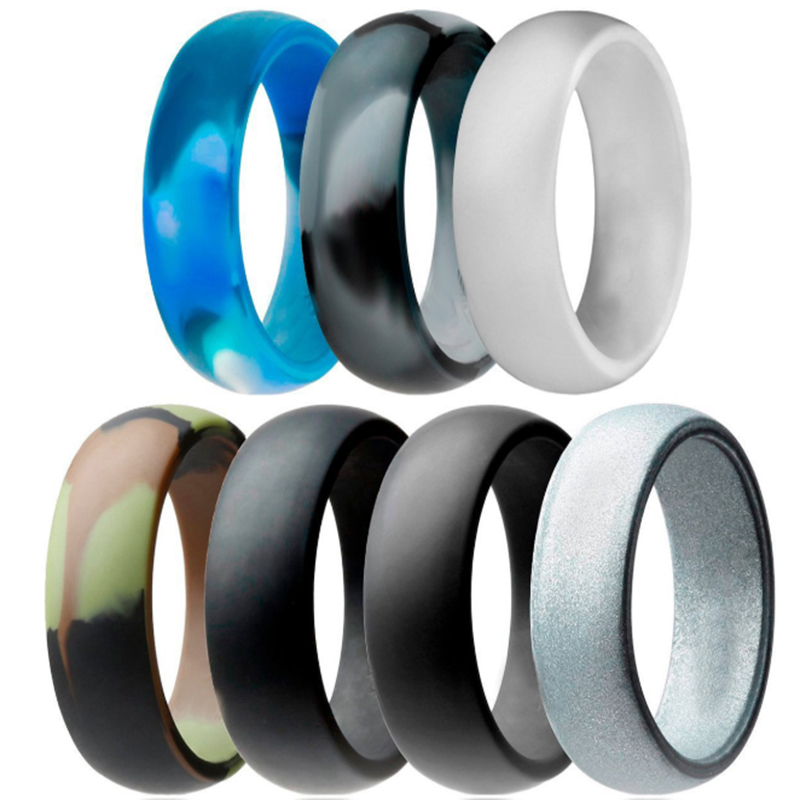 Camo Style Silicone Ring