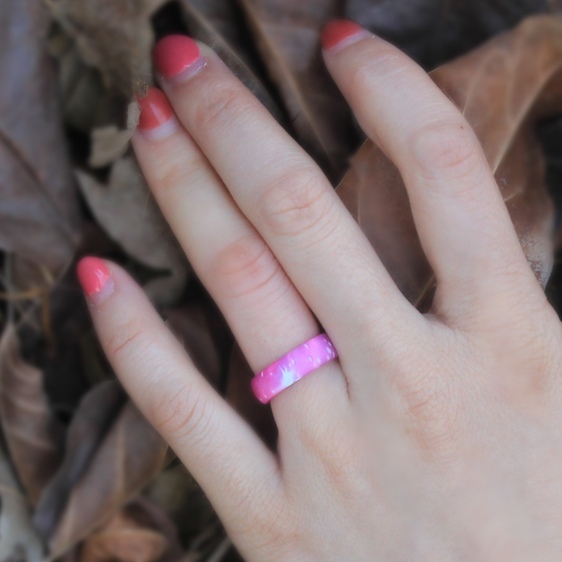 Sky Pattern Silicone Ring
