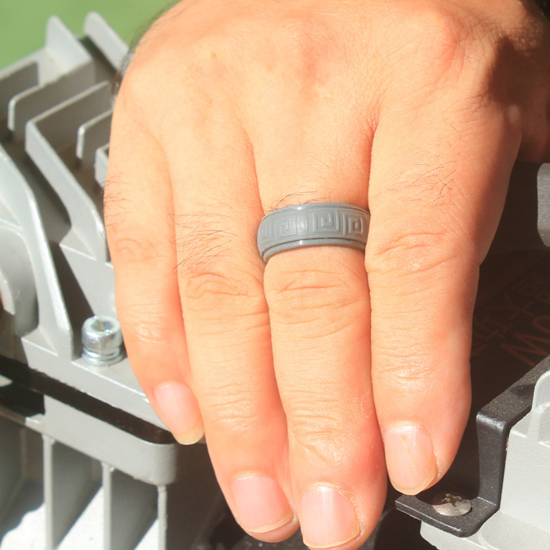 FRET Pattern Silicone Ring