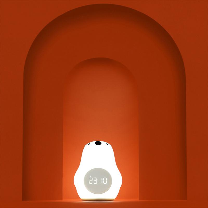 Silicone Wake Up Bear Night Light