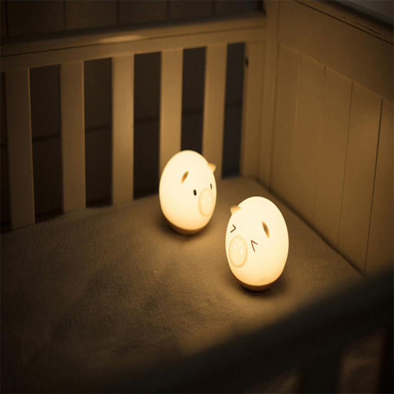 Piggy Silicone Night Light