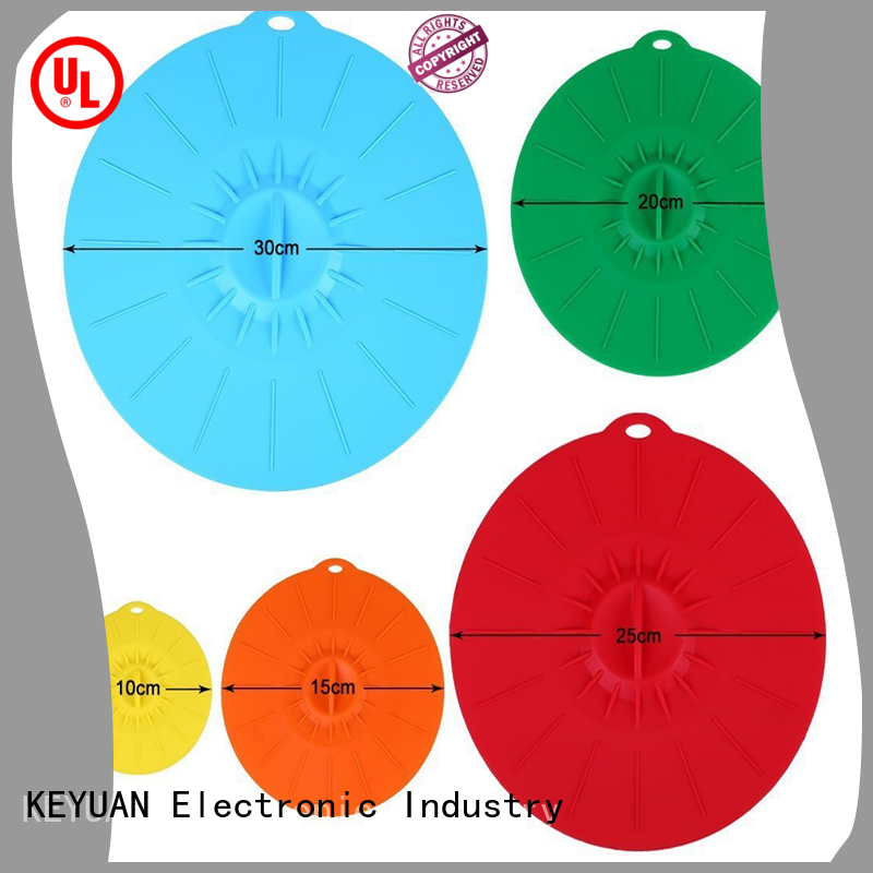 Keyuan round silicone household products directly sale for kitchen