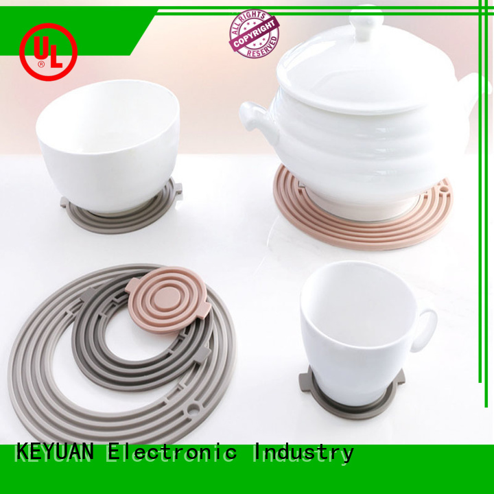 Keyuan debossed household silicone items manufacturer for men