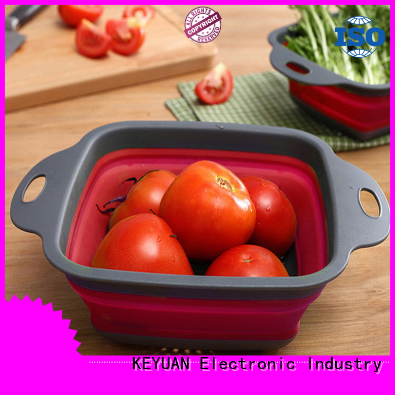 Keyuan heat-resistant silicone kitchenware products factory for cake making