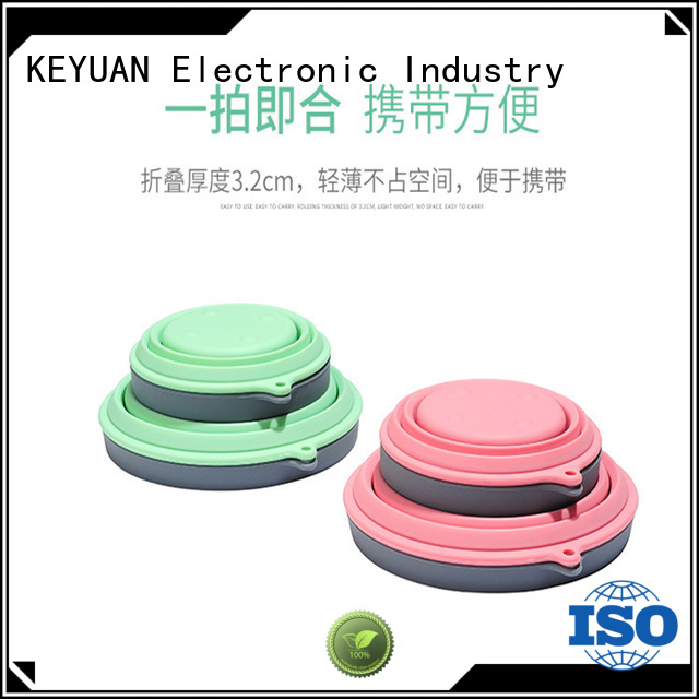 Keyuan debossed silicone household items directly sale for household