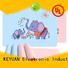 Keyuan baby girl bibs series for household