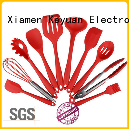 Keyuan heat-resistant silicone kitchen items with good price for kitchen